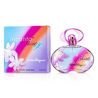 Salvatore Ferragamo Incanto Shine Eau De Toilette Spray 100ml / 3.4 oz