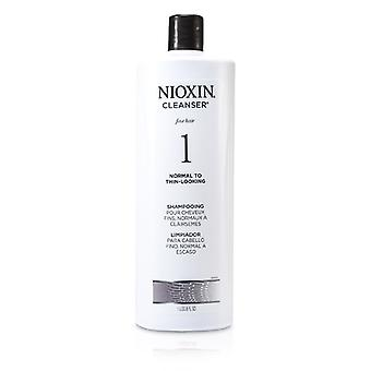 Nioxin System 1 Cleanser For Fine Hair, Normal to Thin-Looking Hair 1000ml/33.8oz