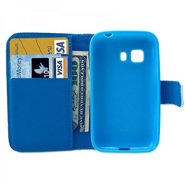 Cases Wallet pattern 47 for Samsung Galaxy Young 2 G130