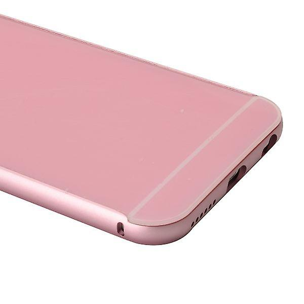 Aluminium bumper 2 pieces with cover Pink for Apple iPhone 6 plus