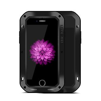 Elsker MEI Outdoor metal kofanger til Apple iPhone 7 plus etui sort