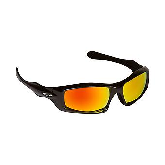 New SEEK Replacement Lenses for Oakley MONSTER PUP Blue Yellow Mirror