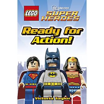 Heroes in Action (LEGO DC Super Heroes Level 2) (Hardcover) by Taylor Victoria