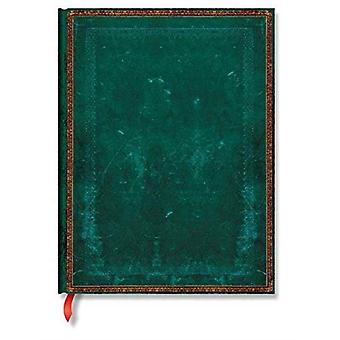Paperblanks Old Leather Ruled Ultra Notebook - Viridian (Old Leather Classics) by Lin.