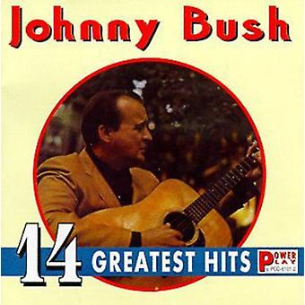 Johnny Bush - 14 Greatest Hits [CD] USA import