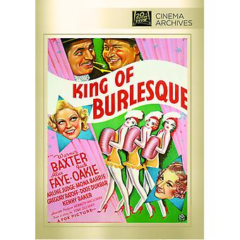 King of Burlesque [DVD] USA import