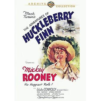 Przygody Huckleberry Finna [DVD] USA import