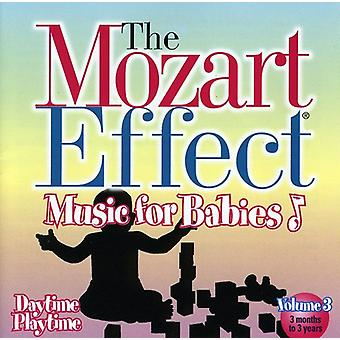 Mozart effekt-musik for babyer - Mozart effekten-musik for babyer: Vol. 3-dagen til legetid [CD] USA import