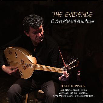 Pastor, Jose Luis / præst, Jose Luis - bevis: The Medieval Art af plekter [CD] USA importen