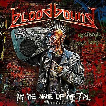 Bloodbound - i namn av metall [CD] USA import