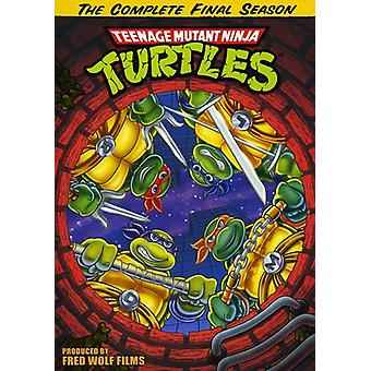 Teenage Mutant Ninja Turtles: Säsong 10-Final hav [DVD] USA import