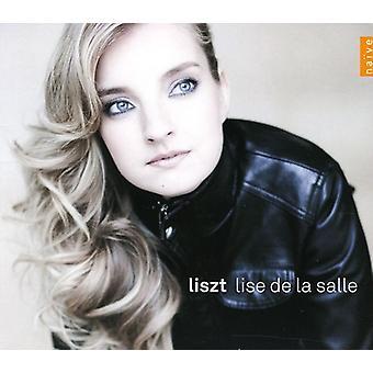 F. Liszt - Lise De La Salle Plays Liszt [CD] USA import