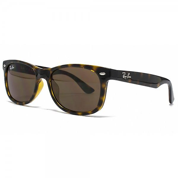 Ray-Ban Junior Wayfarer-Sonnenbrille in Havanna