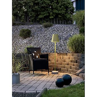 Konstsmide Lucca Green Shade Concrete Garden Light