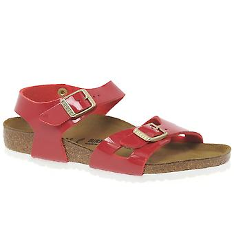 Birkenstock Rio Girls Tango Red Sandals
