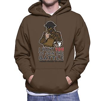 Join The Fight Men's Hooded Sweatshirt
