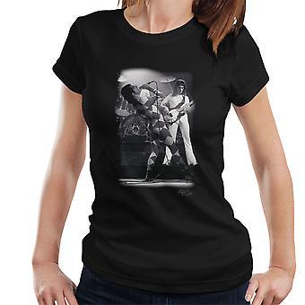 Königin auf der Bühne In London 1976 Damen T-Shirt