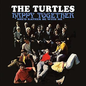 Skildpadder - Happy Together [CD] USA importerer