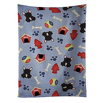 Dog House Collection French Bulldog Brindle Kitchen Towel