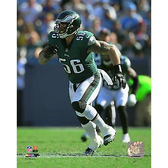 Chris Long 2017 Action Photo Print