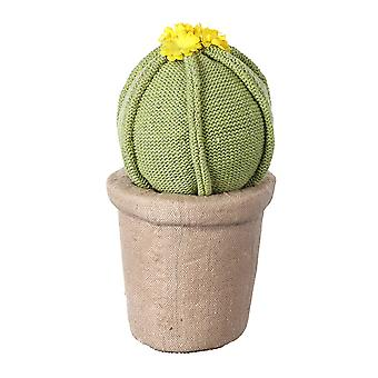 Heaven Sends Knitted Potted Cactus