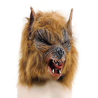 Brown 'She' Wolf mask Budget