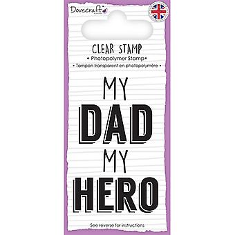 Dovecraft Sentiment Clear Stamp-Dad DCSTP095