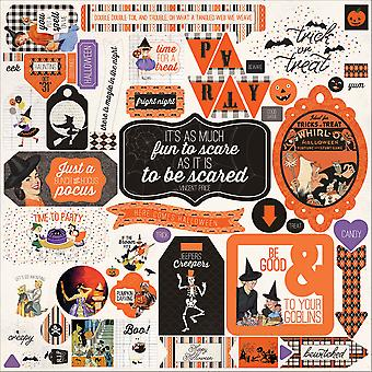 Bewitched Cardstock Stickers 12