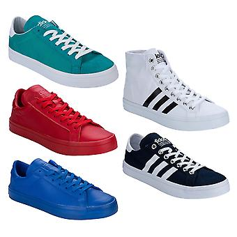 Mens adidas Originals Court Vantage Trainers