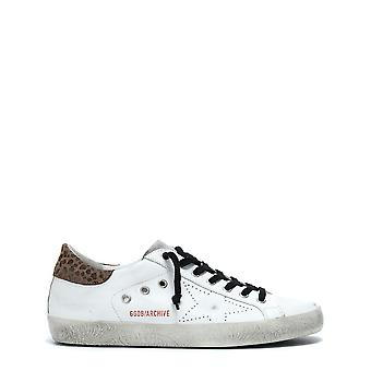 Golden Goose men's GARMS590F1 White leather of sneakers