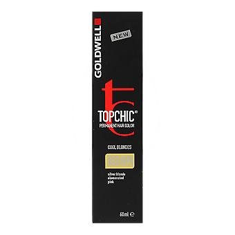 Goldwell Topchic Cool blondiner 8SB@Pk Silver blond rosa Permanent 60ml