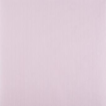 Perfection Flat Striped Wallpaper Roll - Shimmer Pink Silver-5280693