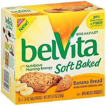 Belvita Breakfast Soft Baked Banana Bread 2 Box Pack