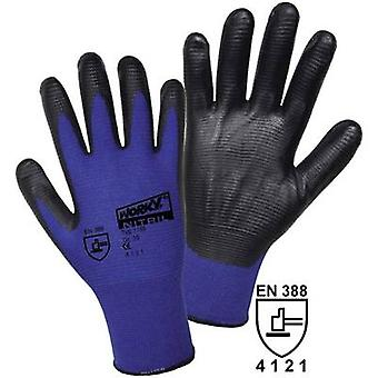 worky 1165 Super Grip polyamide nitrile fine knitted gloves 100% Polyamide wit