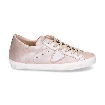 Philippe model ladies CLLDXM82 gold leather sneakers