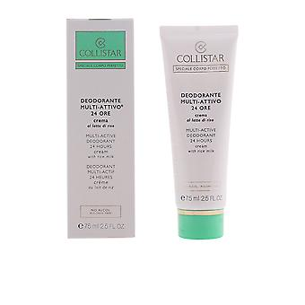 Collistar Perfect Body Deo 24h Cream Rice Milk 75ml Unisex New