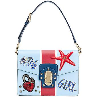 Dolce E Gabbana ladies BB6350AH659HCO41 Blau leather handbags