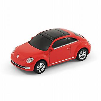 VW Beetle 'Neue Form' Car Computer USB Memory Stick 8 GB - Rot