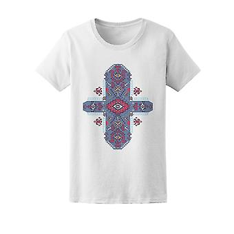 Mexican Ethnic Tribal Ornament Tee Women's -Image by Shutterstock