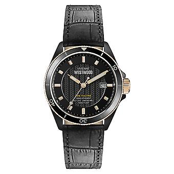 Vivienne Westwood Spitalfields Black Men's Watch