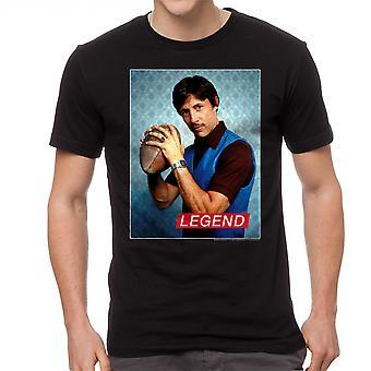 Napoleon Dynamite Legend mænds sort Funny T-shirt