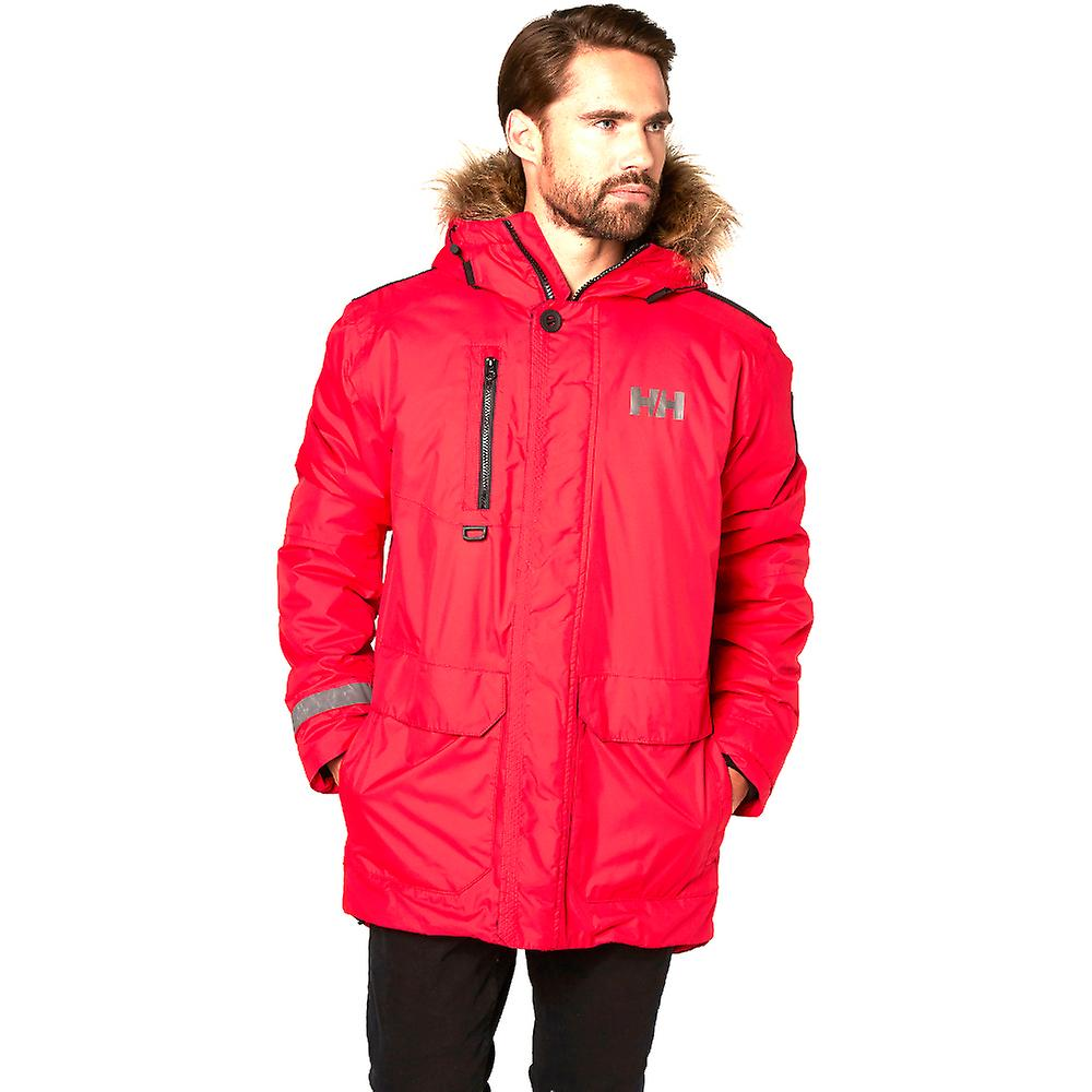 Helly Hansen Mens Svalbard imperméable respirante Parka Jacket Coat