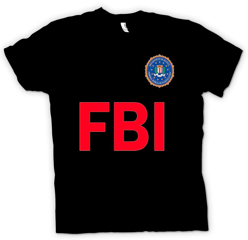 Womens T-shirt - FBI USA - Police
