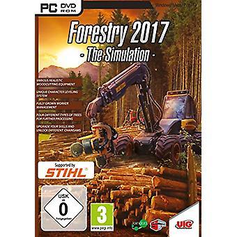 Skogsbruk 2017 - simulering