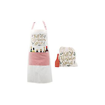 CGB Giftware Christmas Full Of Christmas Spirit Apron