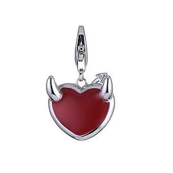 ESPRIT wisiorek z charms srebro serdeczny diabeł ESCH90880A000