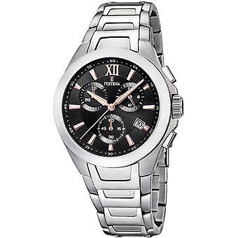 Festina mens watch sports chronograph F16678/c