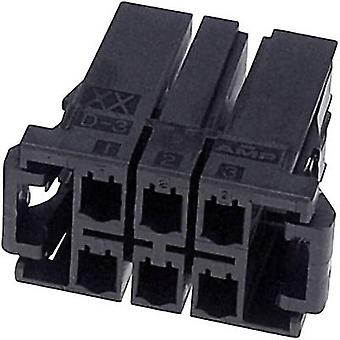 TE Connectivity Socket enclosure - cable DYNAMIC 3000 Series Total number of pins 6 3-178129-6 1 pc(s)