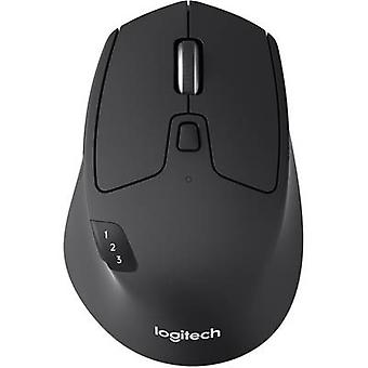 Logitech M720 Triathlon Wireless mouse Optical Black