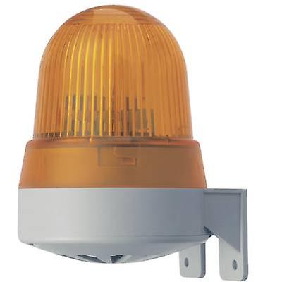 Buzzer LED Werma attention 422.310.68 non-stop jaune signal lumineux 230 V AC 92 dB